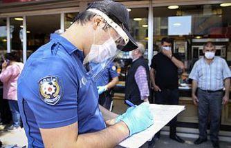 Kovid-19 tedbirlerine uymayan 378 kişiye para cezası