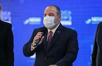 Sanayi ve Teknoloji Bakanı Mustafa Varank, Bursa'da temel atma töreninde konuştu