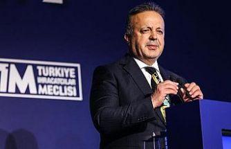 """TİM Başkanı Gülle: """"Türk ihracatçısının başarılı olduğunu dünyaya gösterdik"""""""