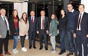 Trakya Üniversitesi Rektörü Tabakoğlu, Kosova Başbakan Yardımcısı Halimaj'ı ziyaret etti