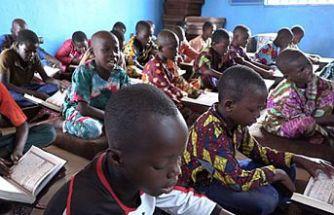 Türk hayırseverler Burkina Faso'da hafızlık merkezi açtı