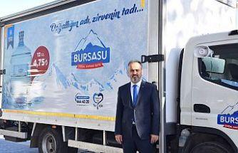 """Büyükşehir Belediyesi """"Bursa Su"""" markasıyla sektördeki pazar payını artırmayı hedefliyor"""