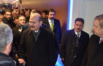 İçişleri Bakanı Soylu, KADES tanıtım stadını ziyaret etti