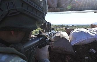 Barış Pınarı Bölgesi'nde 5 terörist etkisiz hale getirildi