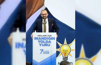 AK Parti Genel Başkan Yardımcısı Usta, partisinin Kırklareli İl Kongresi'nde konuştu