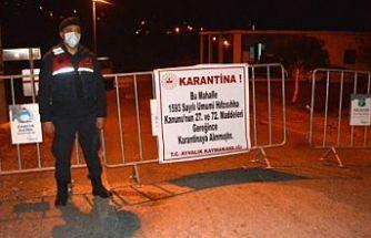 Balıkesir'in Ayvalık ilçesinde bir mahalle karantinaya alındı