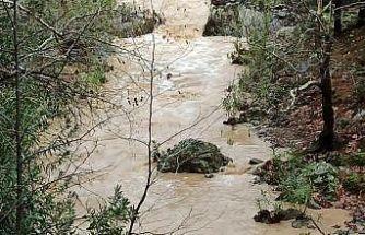 Balıkesir'de çöken ahşap köprüden dereye düşerek suya kapılan kadın öldü