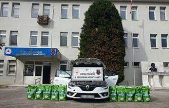 Bursa'da çiftçilere sahte zirai gübre sattığı iddia edilen şüpheli tutuklandı