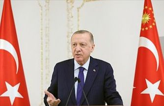 Cumhurbaşkanı Erdoğan: Salgın iş dünyamızın önünde yeni fırsat pencereleri de açıyor