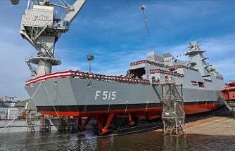 İstanbul Fırkateyni'nin Denize İniş ve Pakistan MİLGEM Korvet Projesi 3'üncü Gemi İlk Kaynak Töreni