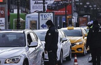 Sokağa çıkma kısıtlamalarına uymayan 27 bin 839 kişi hakkında adli/idari işlem yapıldı