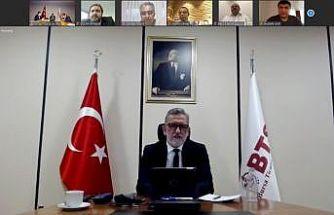 """BTSO Başkanı Burkay: """"En büyük gücümüz, ekonomideki virüsün de panzehri olan nitelikli üretimdir"""""""