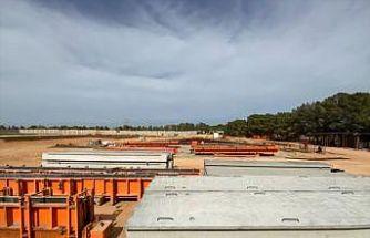 Türk şirketin Libya'da kurduğu, ülkenin en büyük beton üretim tesisi açıldı