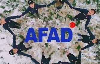 Minik AFAD gönüllülerinin oynadığı klip sosyal medyada ilgi görüyor