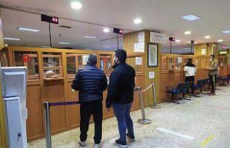 Trakya'da, yapılandırma borçları için açık tutulan vergi dairelerinde mesai sakin geçti