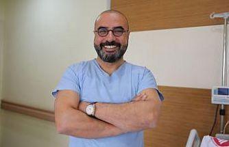 ÇOMÜ Organ Nakli Merkezi salgın sürecinde hız kesmedi
