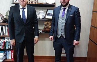 İnce Medya Grup Ankara'da Mustafa Yeneroğlu'nu ziyaret etti