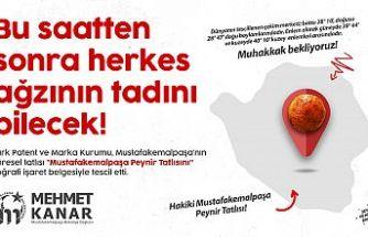 """Bursa'nın damak tatlarından """"Mustafakemalpaşa peynir tatlısı""""na coğrafi işaret tescili"""
