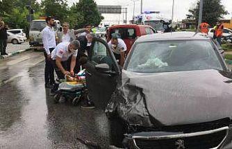 Gelecek Partisi Genel Başkan Yardımcısı Ün, Kırklareli'nde geçirdiği trafik kazasında yaralandı