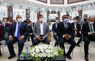 Gelecek Partisi Genel Başkanı Davutoğlu, Tekirdağ'da partisinin ilçe kongresine katıldı