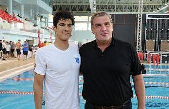 Milli yüzücü Yiğit Aslan, 800 metre serbestte olimpiyat A barajını geçti