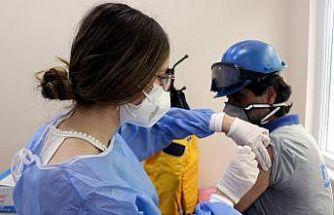 """Yalova'daki tersane ve fabrikalarda """"yerinde aşı uygulaması"""" seferberliği"""