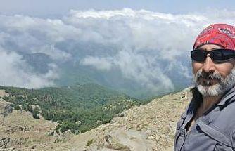 Dağcılık sporcusu Erdek Cennet, Amanosların zirvesine tırmandı