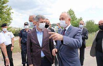 İçişleri Bakan Yardımcısı İnce, Yalova-Bursa kara yolunda trafik denetimine katıldı: