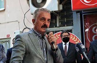 MHP Genel Sekreteri Büyükataman Bursa'da partisinin hizmet binası açılışında konuştu: