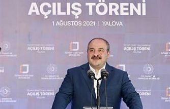 Bakan Varank, Yalova'da Temiz Oda Sistemleri Fabrikası açılış töreninde konuştu: