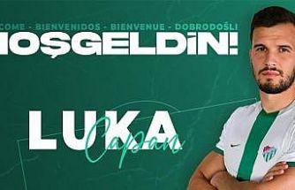 Bursaspor, Luka Capan'ı transfer etti