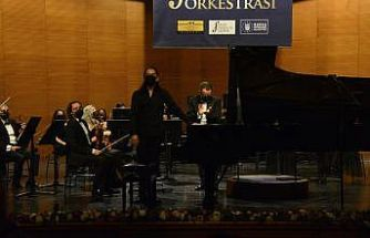 BBDSO Beethoven-Mozart konserinde piyanist Emre Elivar'ı konuk etti