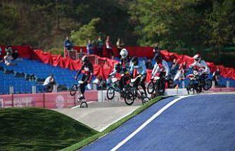 BMX Süper Kross Dünya Kupası 5. tur yarışları başladı