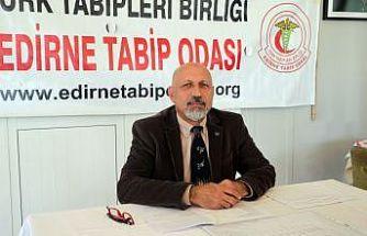 Edirne Tabip Odası Başkanı Prof. Dr. Altun'dan aşı olun çağrısı