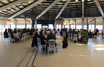 Kırklareli Ticaret ve Sanayi Odası müteahhitlerin yaşadığı sorunların konulduğu toplantıya katıldı