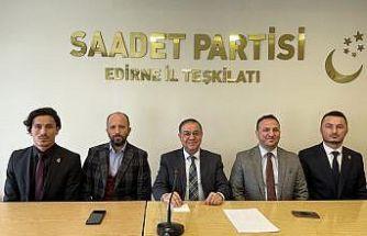 Saadet Partisi Genel Başkan Yardımcısı Mustafa İriş
