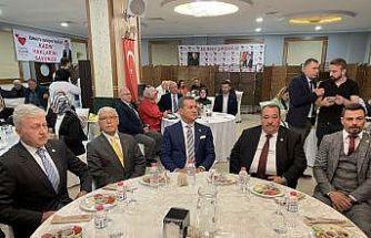 TDP Genel Başkanı Sarıgül, Balıkesir'de muhtarlarla bir araya geldi: