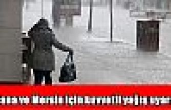 Adana ve Mersin için kuvvetli yağış uyarısı