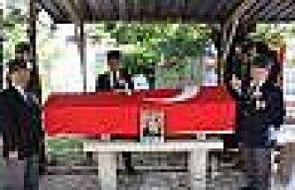 Kıbrıs gazisi, törenle toprağa verildi