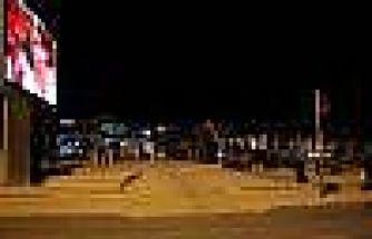 Türkiye-ispanya Maçını Kırşehirliler Dev Ekranda Cacabey Meydanında İzledi