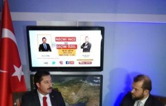 Necmi İnce İle Seçim ÖZEL'in konuğu İyi Parti Yenişehir Belediye Başkan A.Adayı Ercan ÖZEL oldu.