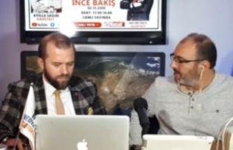 02.11.2018 İNCE BAKIŞ programının Konuğu  Gazeteci Atilla Sağım oldu. 2