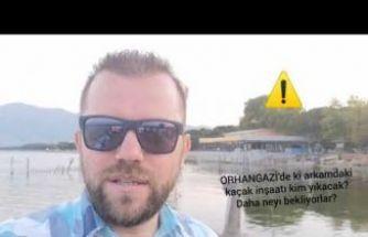 Orhangazi'deki Kaçak İnşaat