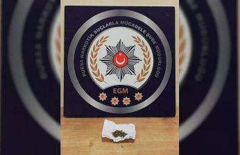 Bursa'da uyuşturucu operasyonunda yakalanan 3 kişi tutuklandı