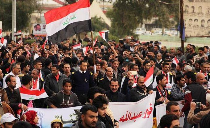Irak'ın güneyindeki gösteriler yayılıyor