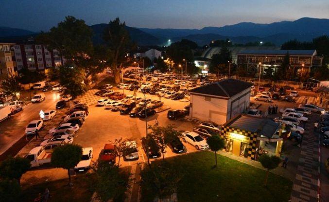Kültürpark Girişindeki Otopark Yeni Görünümüne Kavuştu