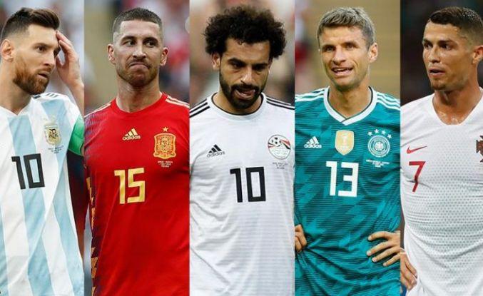 'Yıldızlar' 2018 Dünya Kupası'nda tutunamadı