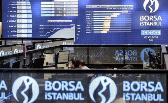 Borsa'dan 4 ayın en yüksek kapanışı