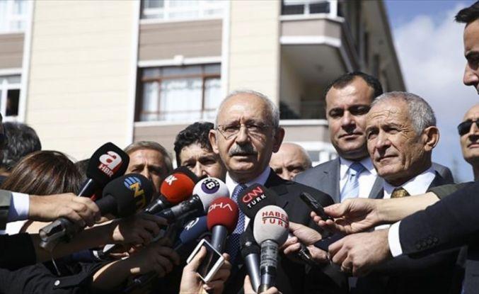 CHP Genel Başkanı Kılıçdaroğlu: Sadece Atatürk'ün hisselerinin temsilcisiyiz