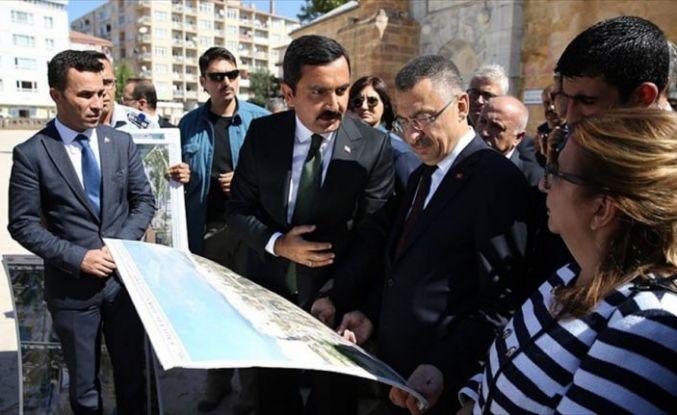 Cumhurbaşkanı Yardımcısı Oktay, Kırşehir'de